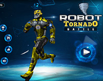 Robot Tornado Battle Transformation