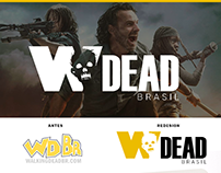 Redesign - Logo Walking Dead Brasil