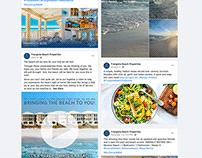 Rental Management - Social Media and Email Marketing