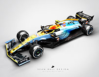 Aston Martin AMR-19 Livery Concept: 3D Visuals