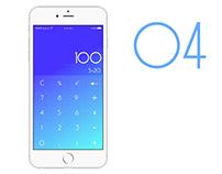 UI Challenge 004 - Calculator