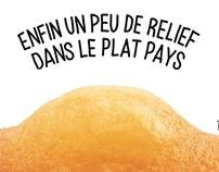 St Michel - Affichage Belgique Tour de France