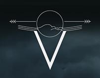 V for Vilnius restaurant branding