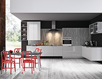 Ariel II Kitchen CGI