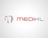 Logo, MediKL, division américaine de Genepharm Group