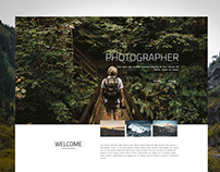 Photographer Portfolio Website by Saad Mahbub