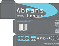 Package Layout: Abrams Lenses
