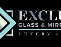 Exclusive Glass & Mirror Logo