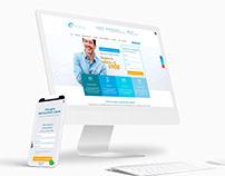 Oftalprivé - Web Wordpress