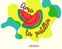 patilla lover (watermelon)
