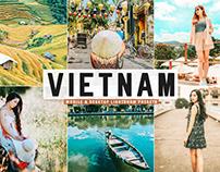 Free Vietnam Mobile & Desktop Lightroom Presets
