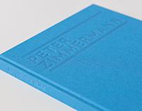 Peter Zimmermann Exhibition Catalogue for Dirimart