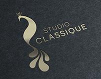 Studio Classique / Pole Dance Studio Brand Identity