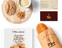 Pão na massa - Rebranding