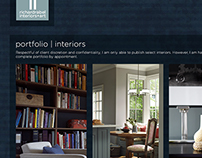 Digital | Richard Rabel Interiors – Website Concept