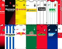 Guía de camisetas de la 1.Bundesliga
