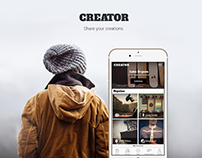 Creator- Share your creations App for iPhone