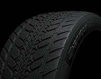 Tire 3D Modelling & Retoucht