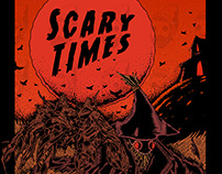 Scary Times T-shirts, XYZ Pub