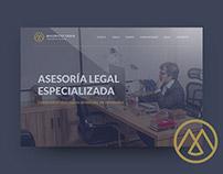 Mauricio Tapia abogados - Website