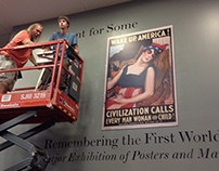 WWI Poster Exhibit at Boston University