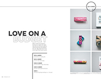 Love on a Budget Layout Design
