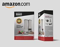 Packaging Salt&Pepper grinder set