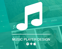 Music player concept design