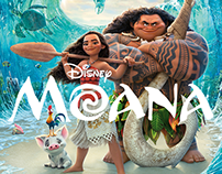 Disney Moana | Social Media Graphics