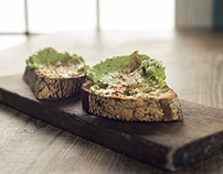 Eveleigh | Grilled Country Bread Avocado Toast