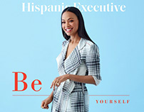 Zoe Saldana for Hispanic Executive