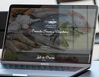 Sitio Web Pescadería Mediterráneo - Chile