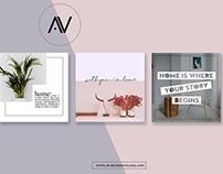 Home Sweet Home | Social Media Pack