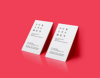 SCKITCHEN Logo x Business Card