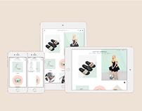 Loeffler Randall Website Redesign