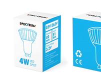 Spectrum - Minimalistic Packaging