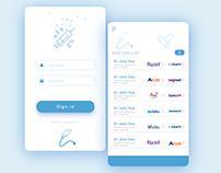 Simple & Clean UI