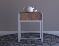 Tea Time side table