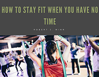Robert J Winn | Staying Fit with Little Time