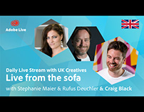 Adobe Live from the sofa UK with Craig Black