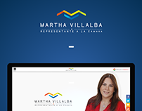 Martha Villalba / Drupal 7 Website
