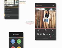 UI Design Challenge - Categorized Photo Editor
