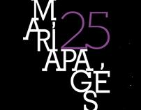Logo 25 aniversario María Pagés Compeñía