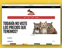 Bater Pet Shop | Diseño Web