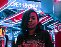 Neon Dreams: Portrait Project 1.