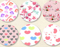 Valentine Pattern Collection