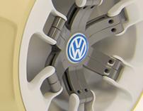 Volkswagen Concept Tire Quick Modeling Study