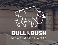 Bull&Bush corporate identity