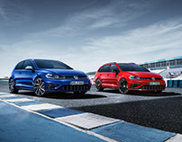 Volkswagen - The new Golf R & Golf R Variant