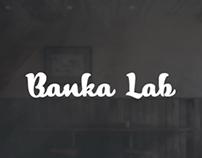 Banka Lab.Hookah.Landing page